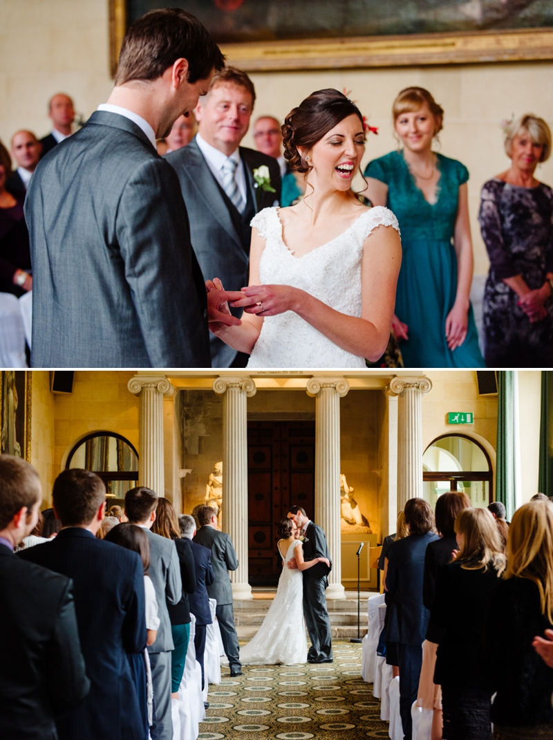 Woburn Sculpture Gallery Wedding - Lucy & James_0015