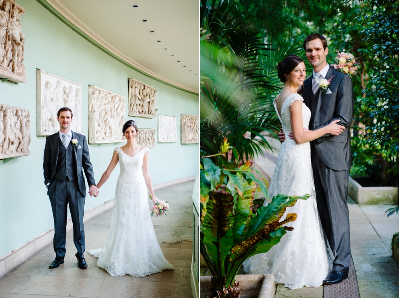 Woburn Sculpture Gallery Wedding - Lucy & James_0022