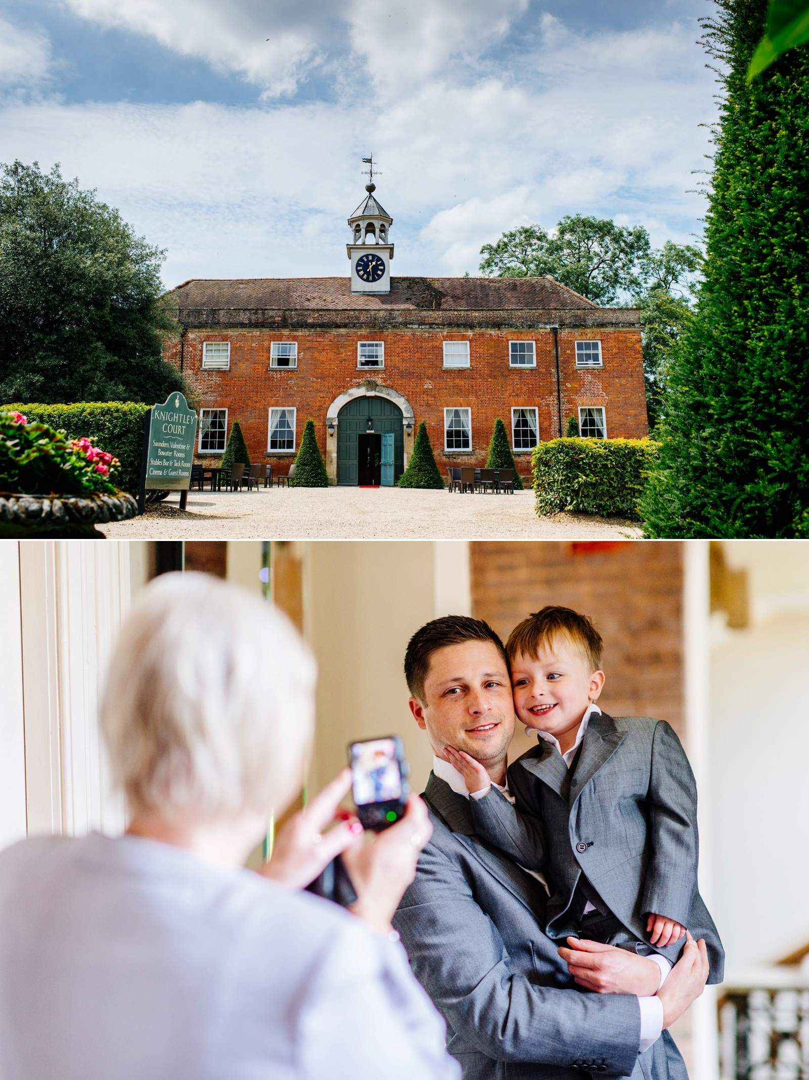 Fawsley Hall Wedding Photographer - Beth & Paul_0001
