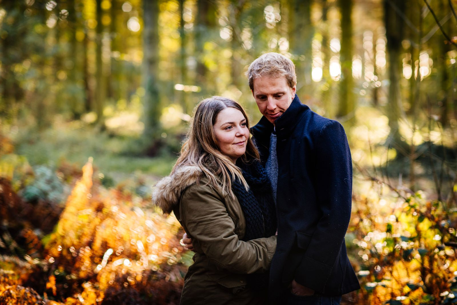Nicola & Dan - Harlestone Firs Pre-Wedding Shoot_0001