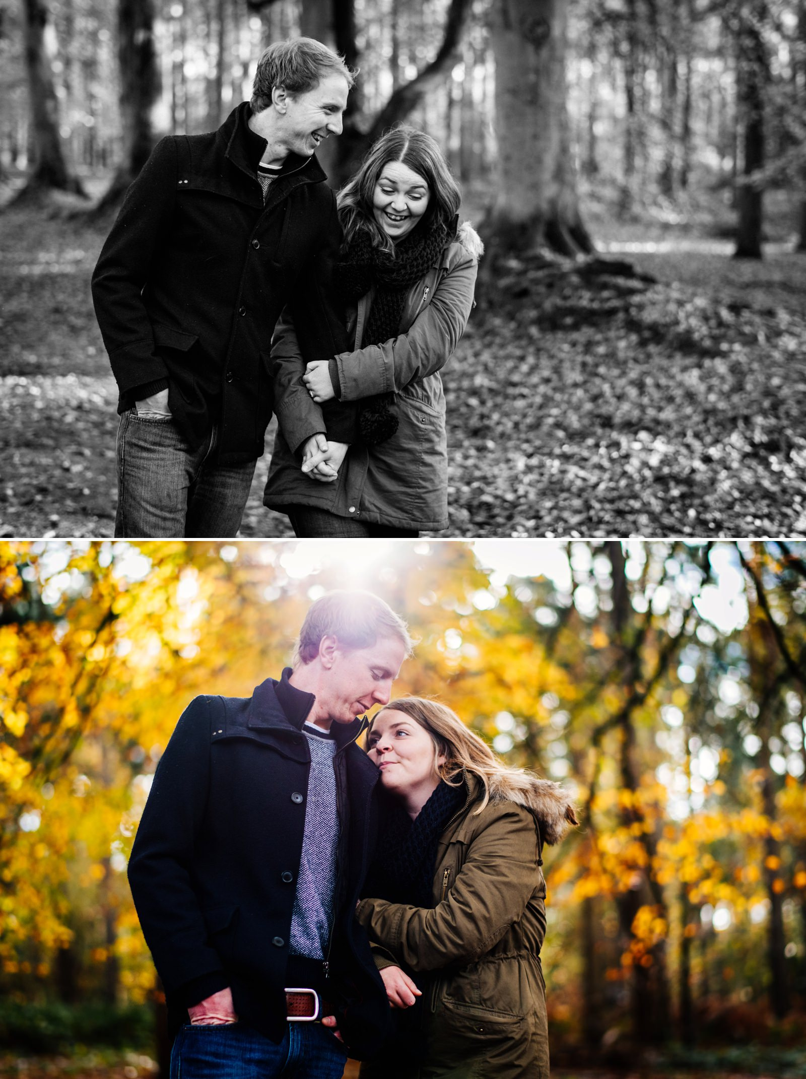 Nicola & Dan - Harlestone Firs Pre-Wedding Shoot_0005