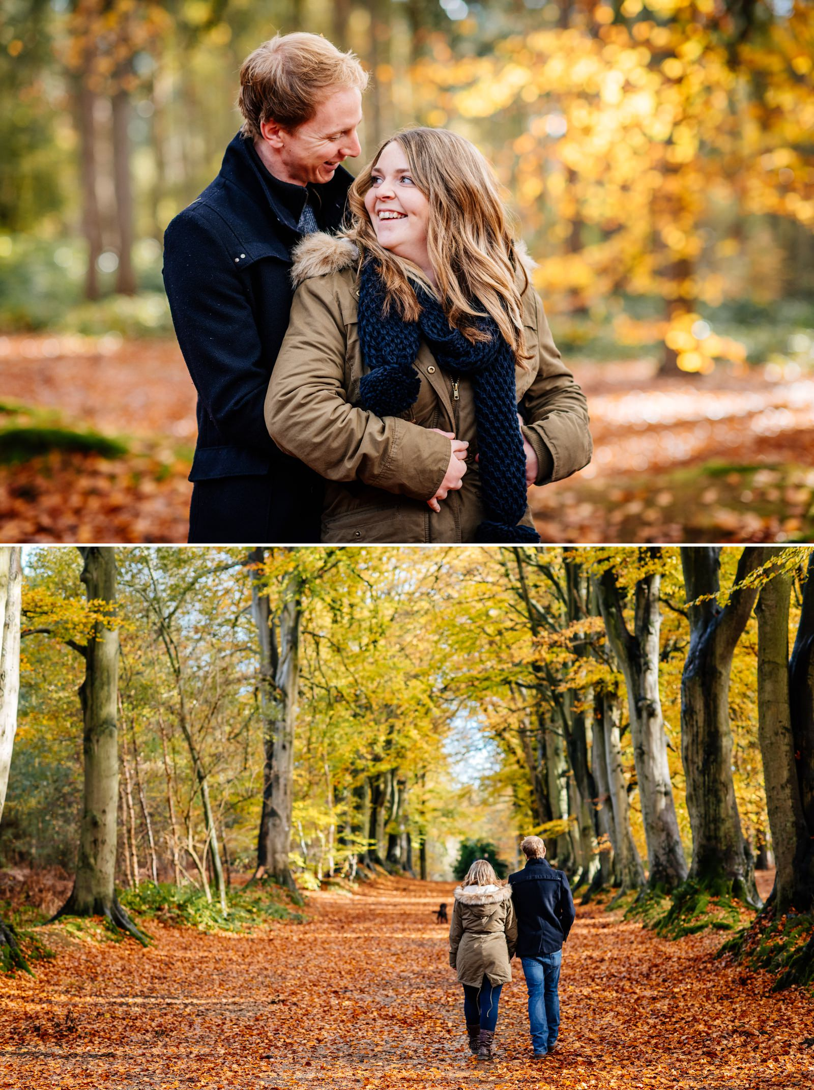 Nicola & Dan - Harlestone Firs Pre-Wedding Shoot_0006