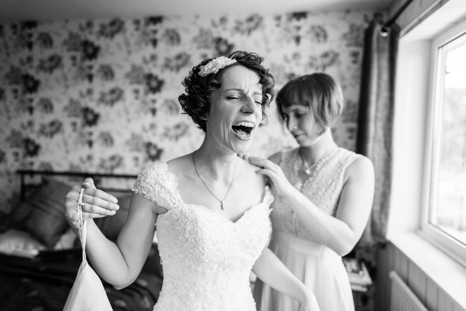 Bridal Prep Photo