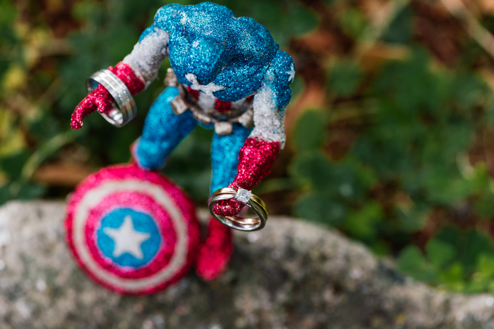 Captain America Wedding Ring Photo