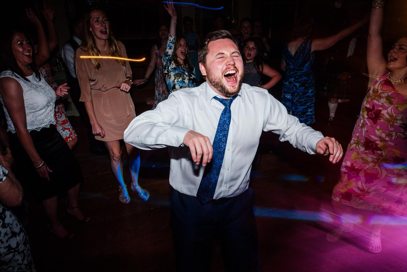 Crazy Dance Floor Photo