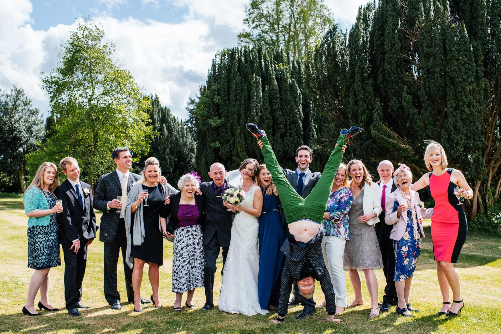 Formal Family Wedding Photos