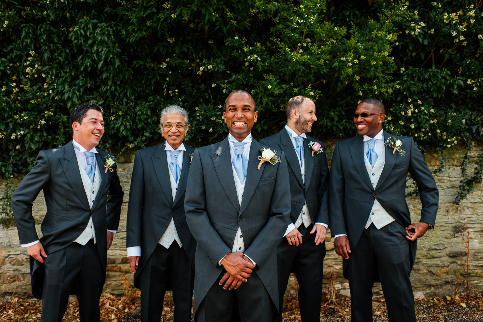 Happy Groomsmen Photo