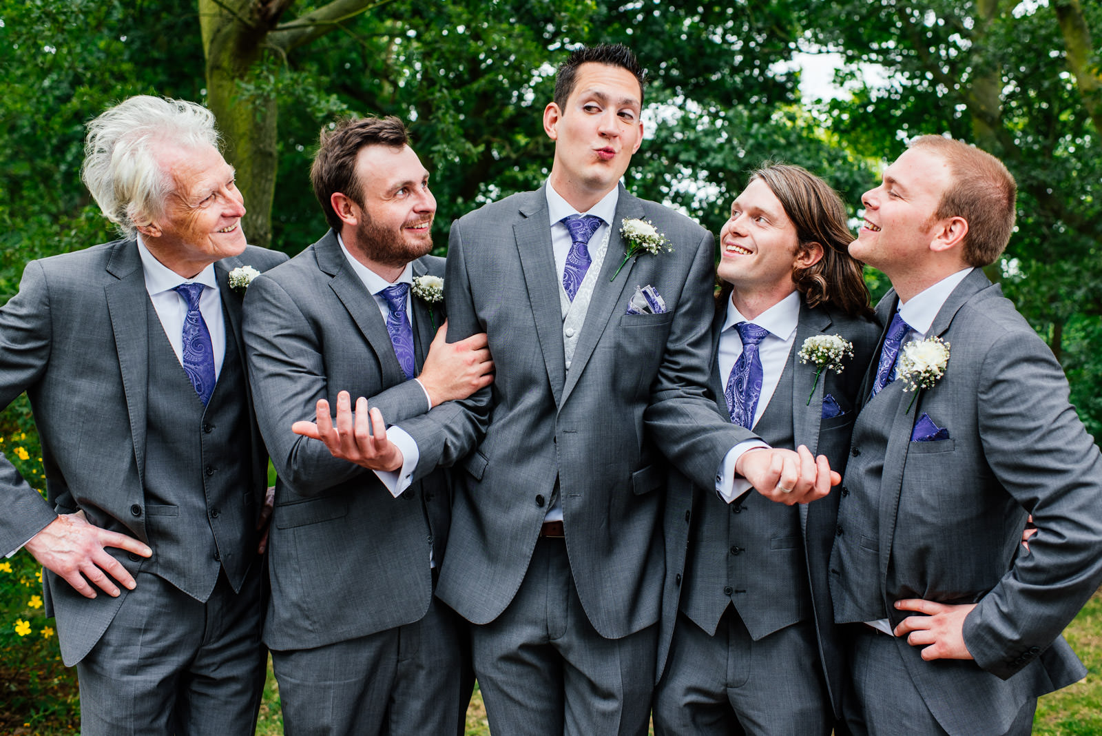 Informal Groomsmen Photo