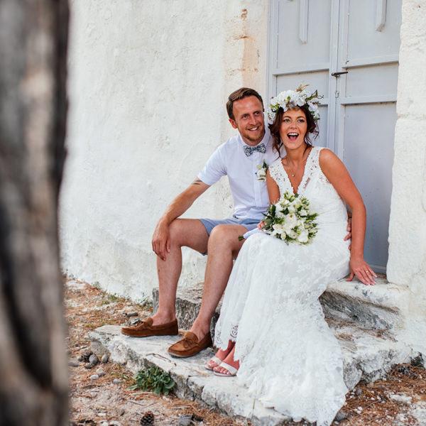 Tanya & Aaran's Kefalonia Wedding