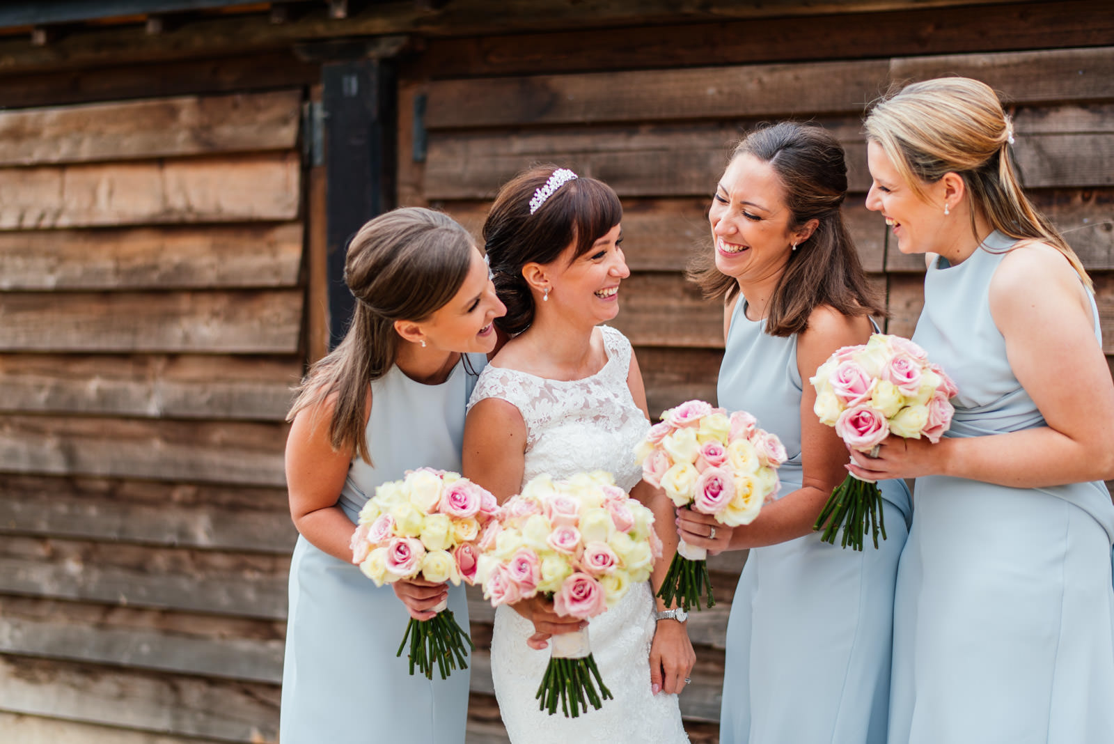 Laughing Bridesmaids Dodford Manor
