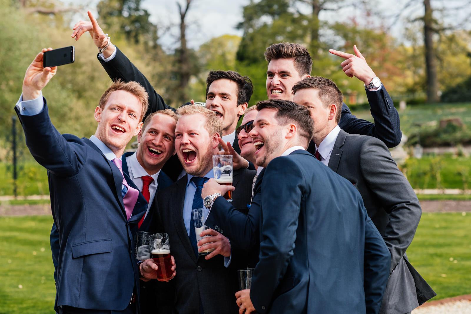Wedding Guest Selfies