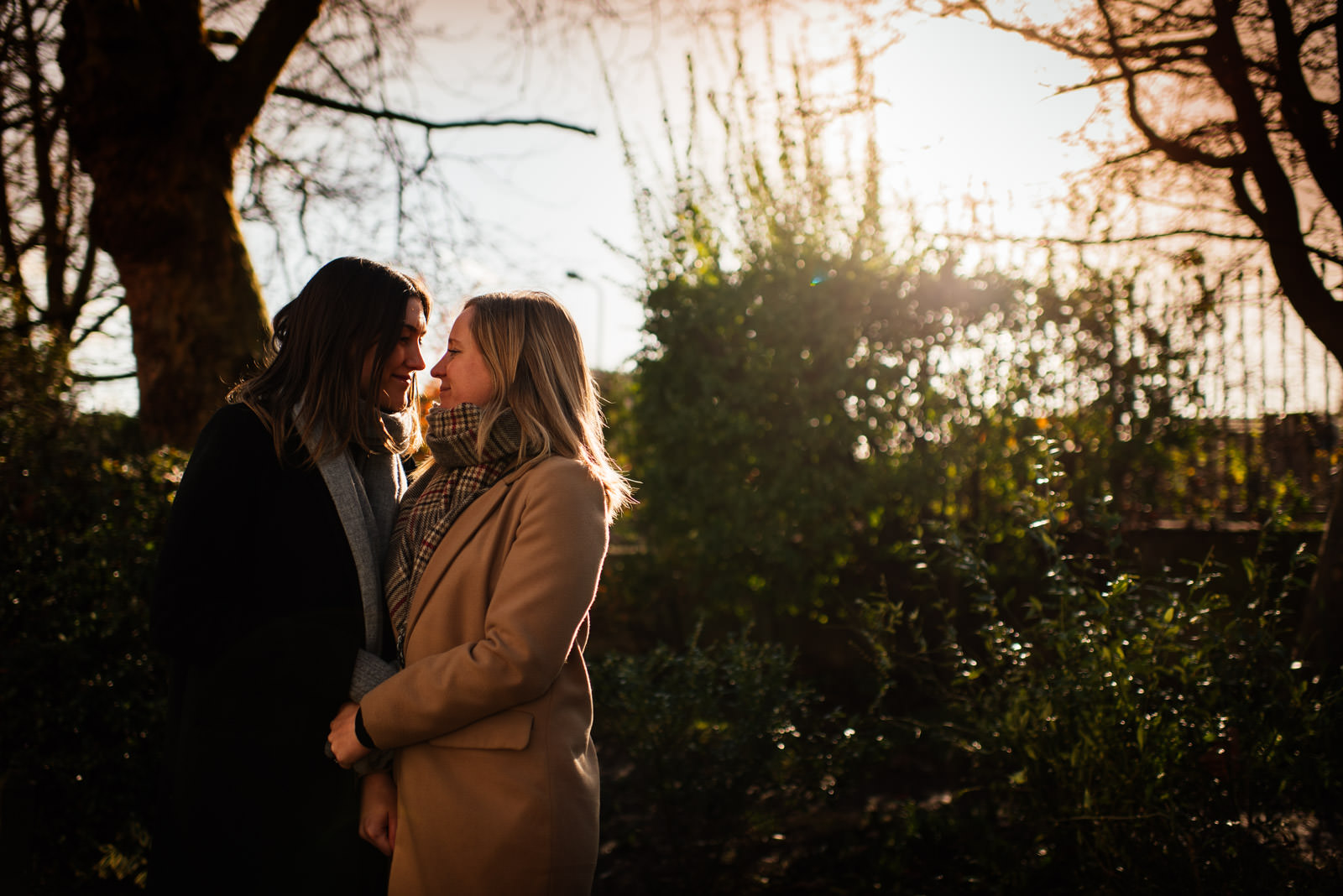 Winter Pre-Wedding Shoot