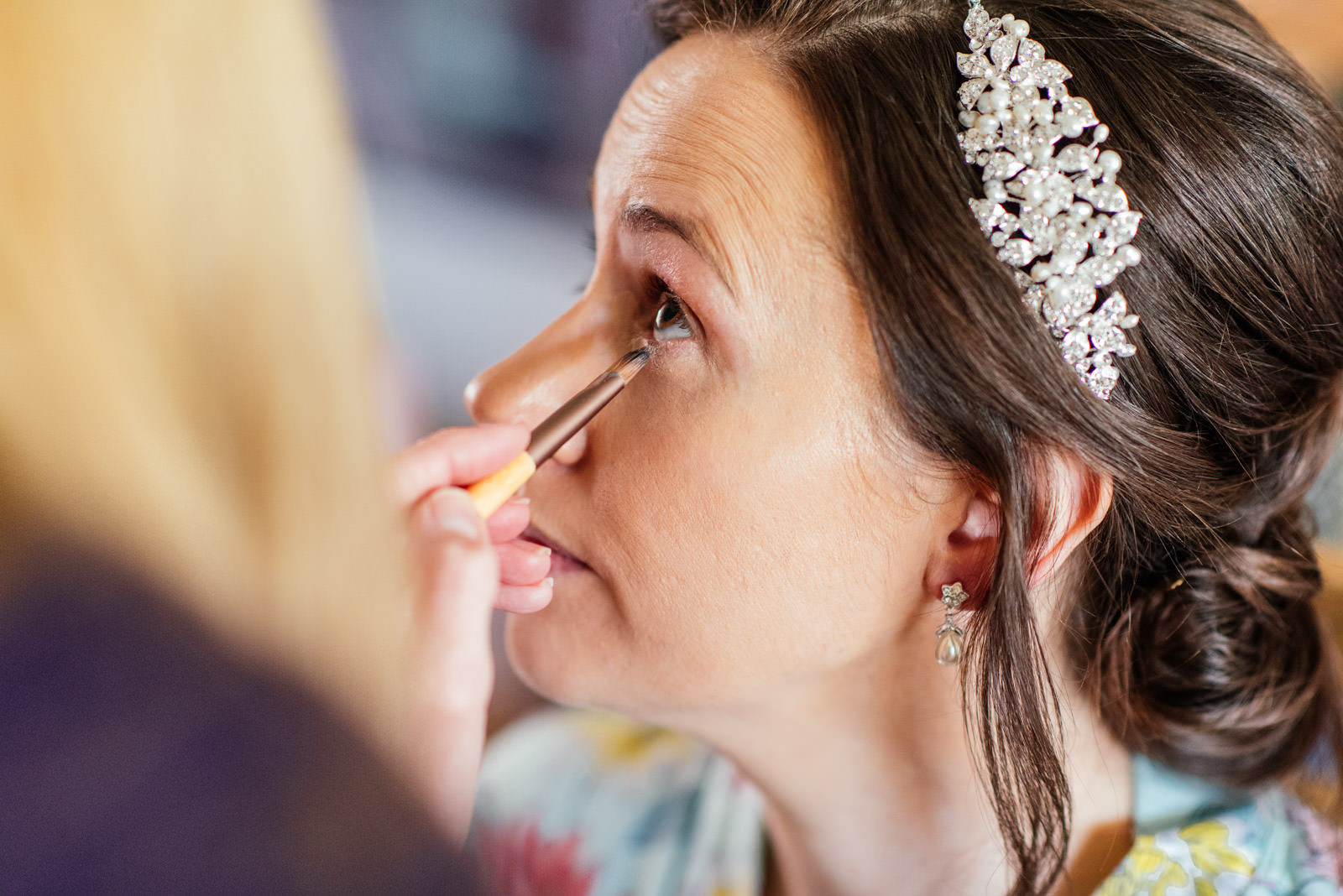 Bride's make up