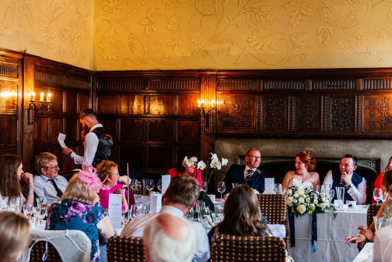 Best man speech at George Hotel Stamford