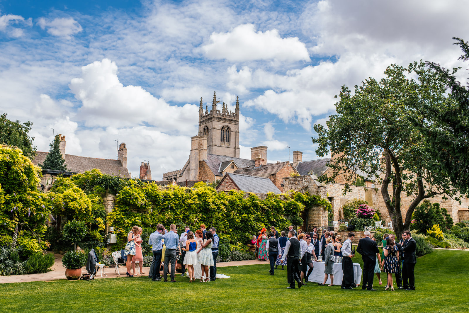 The George Hotel Stamford Wedding