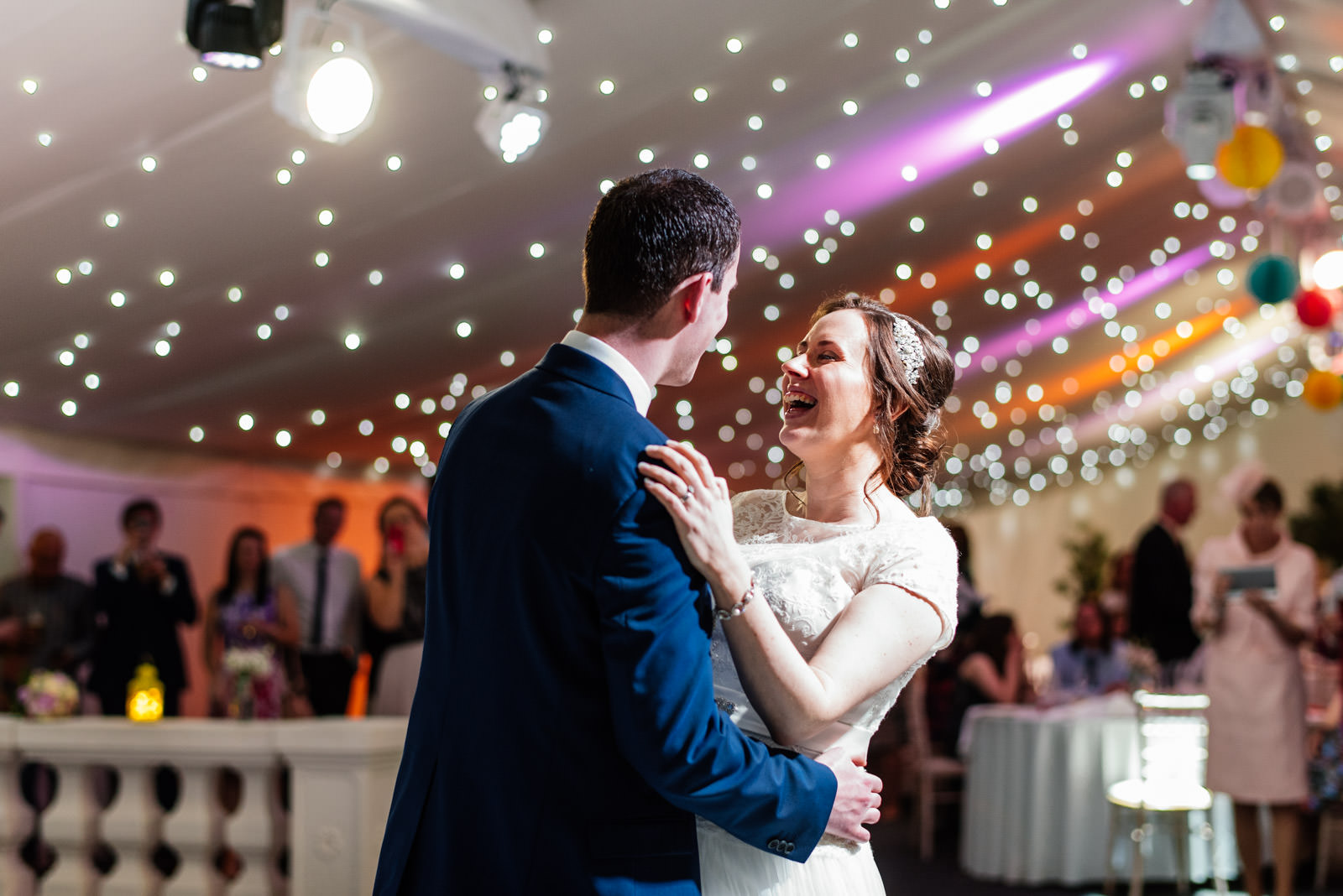 First dance at Alrewas Hayes