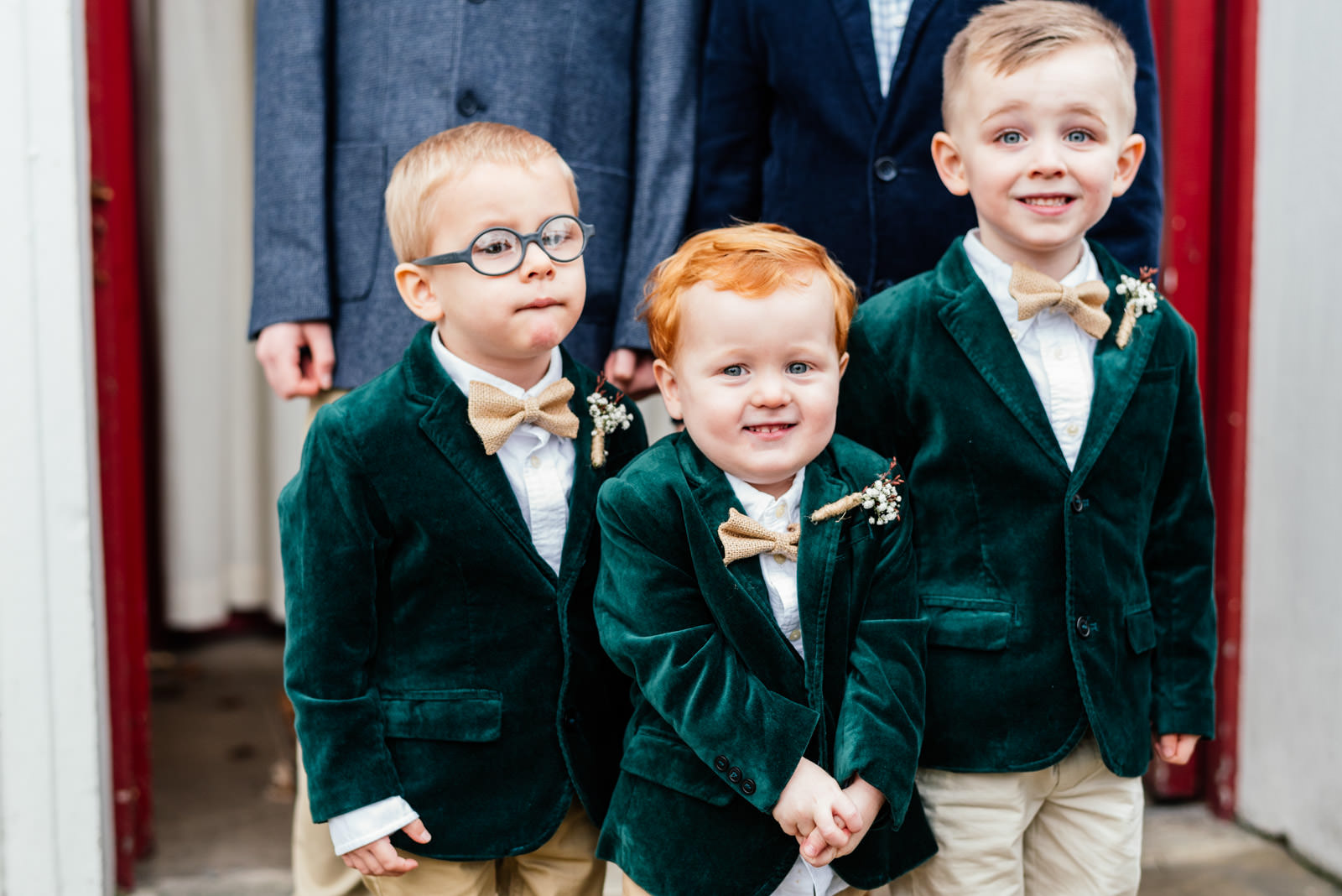 Page Boys at Wedding