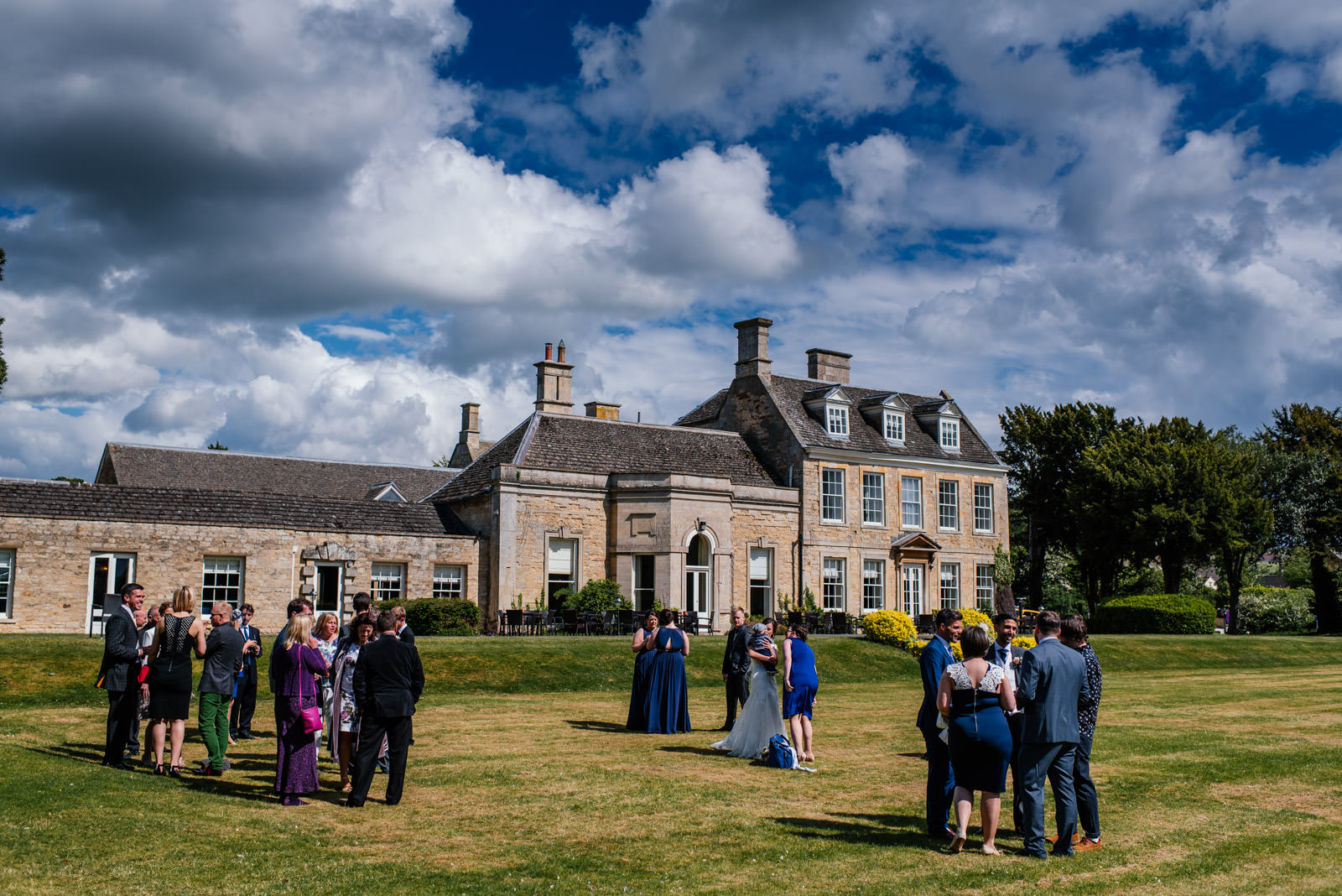 Barton Hall Wedding