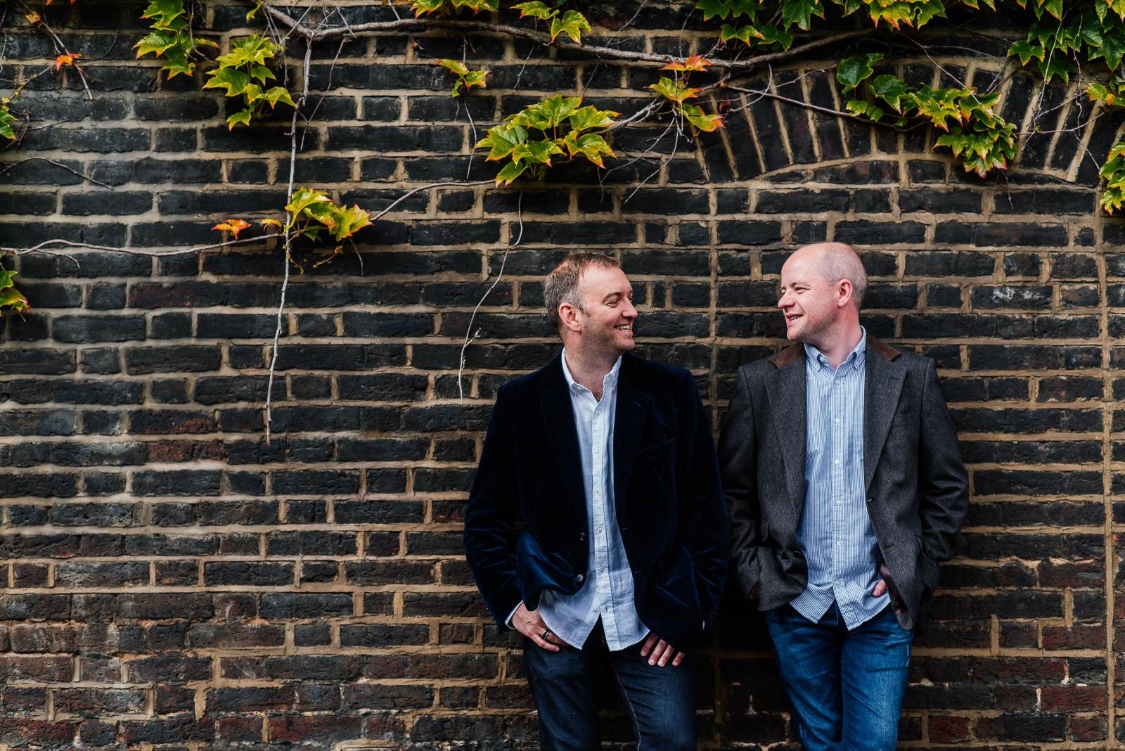 London same sex photo shoot