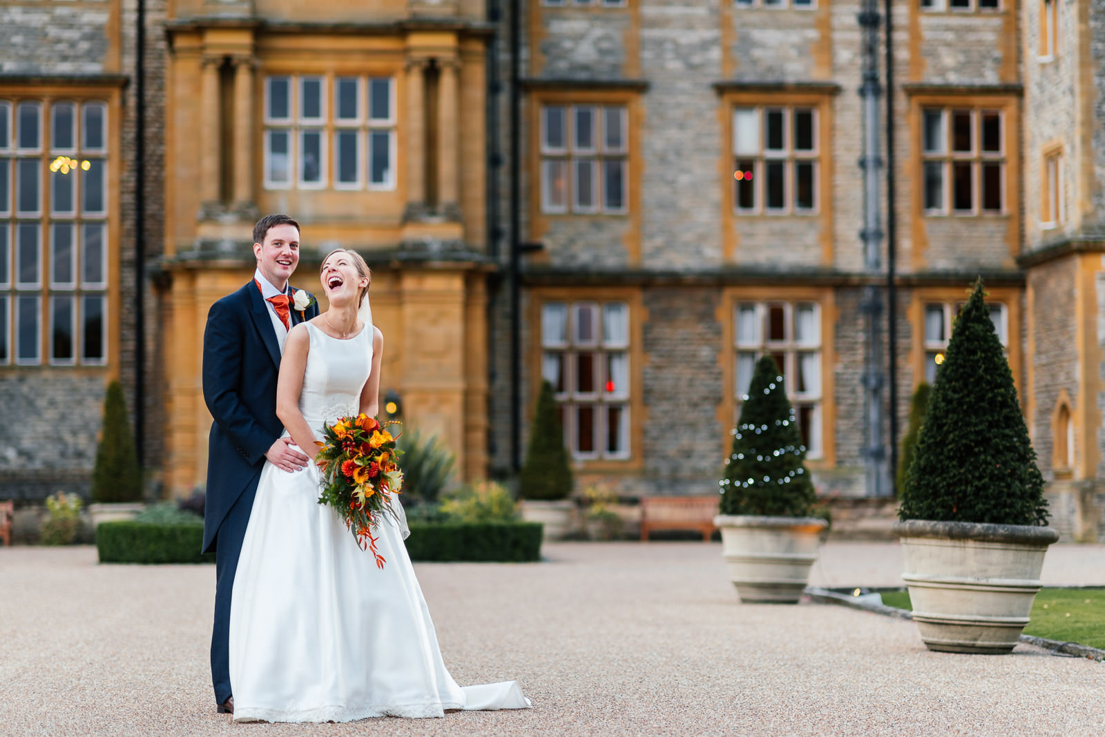 Eynsham Hall wedding photos