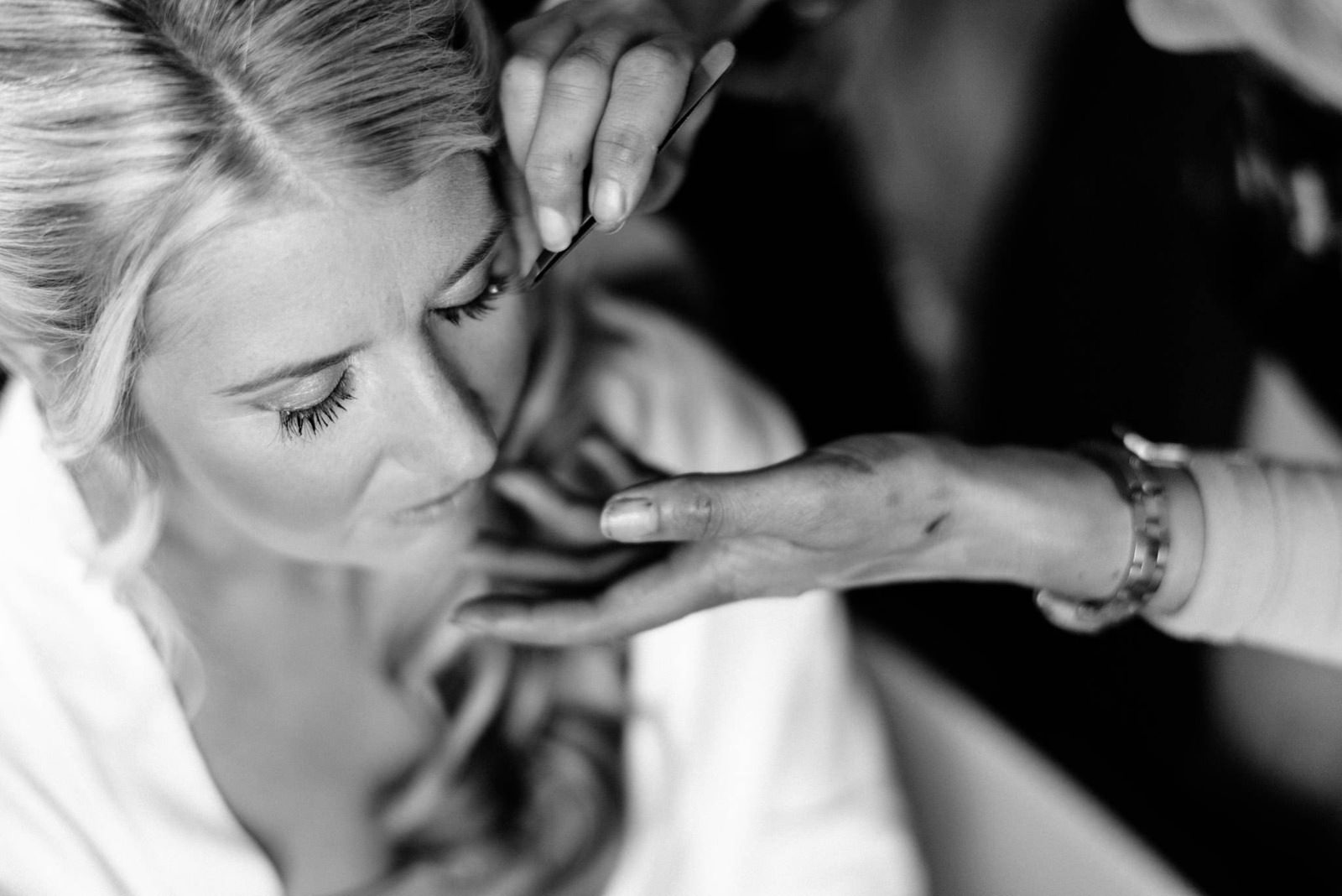 brides make-up