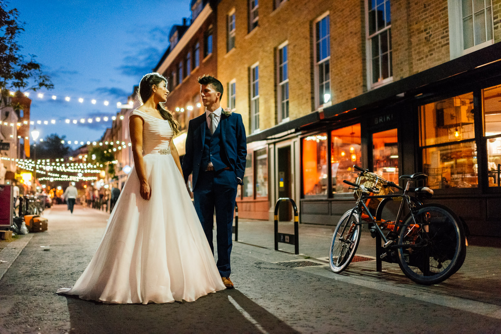 Exmouth Market wedding portrait