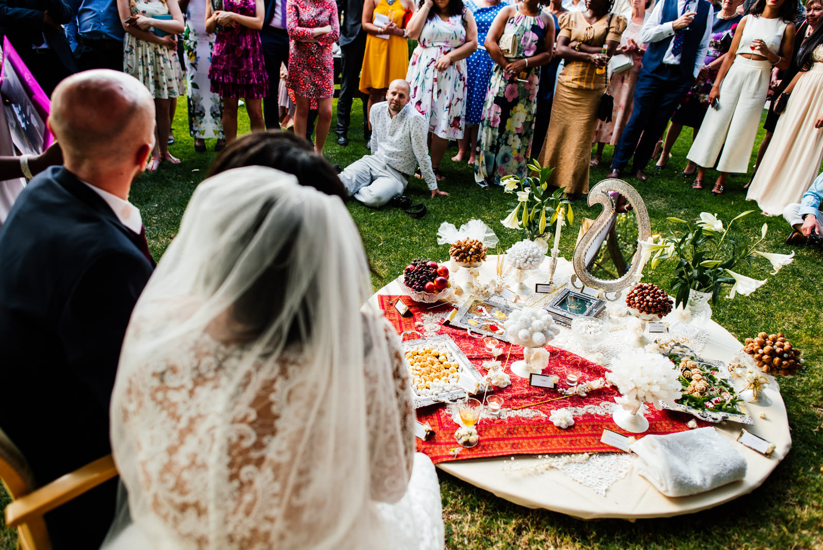 Iranian wedding blessing