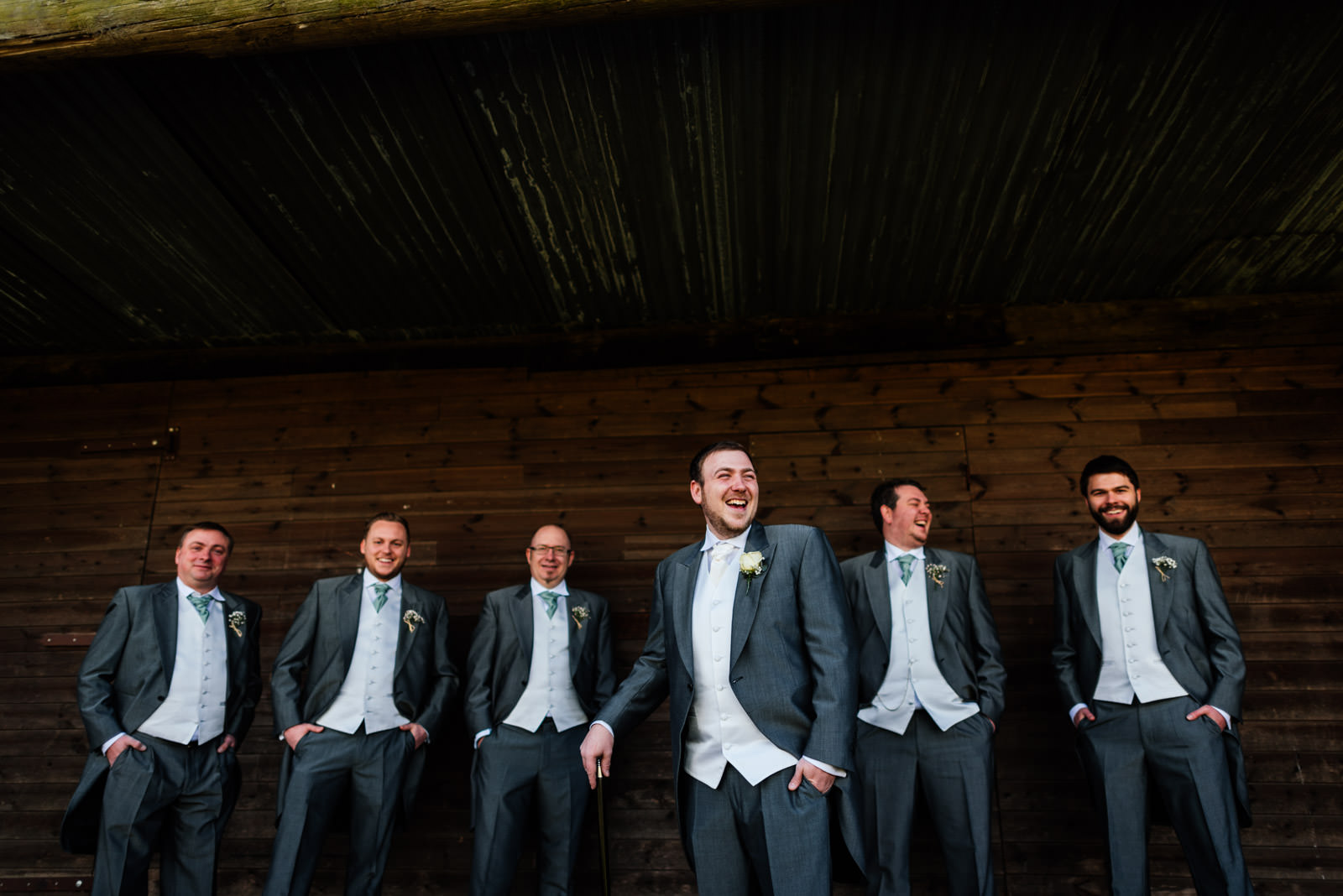 Richard and his groomsmen