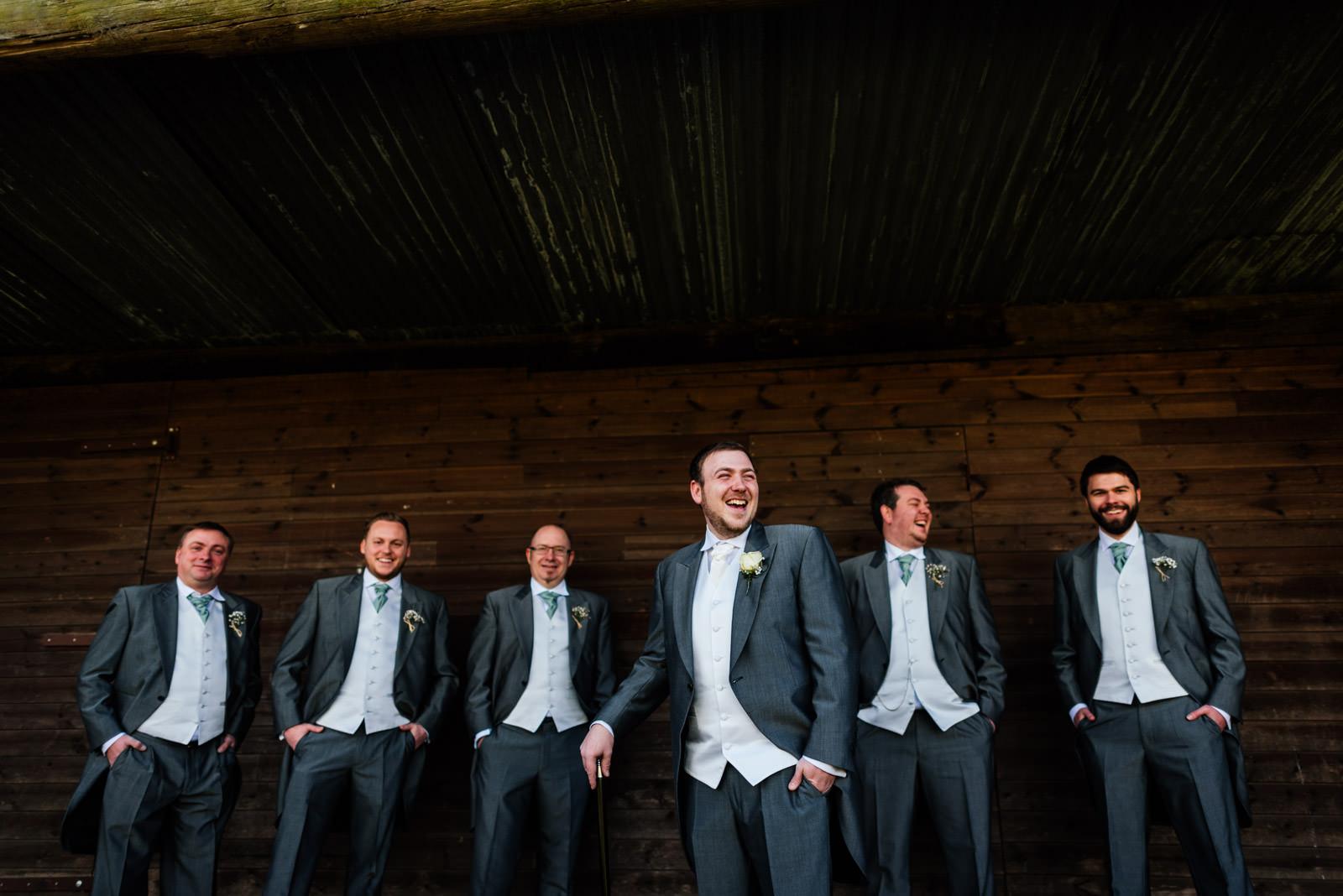 Richard and his groomsmen