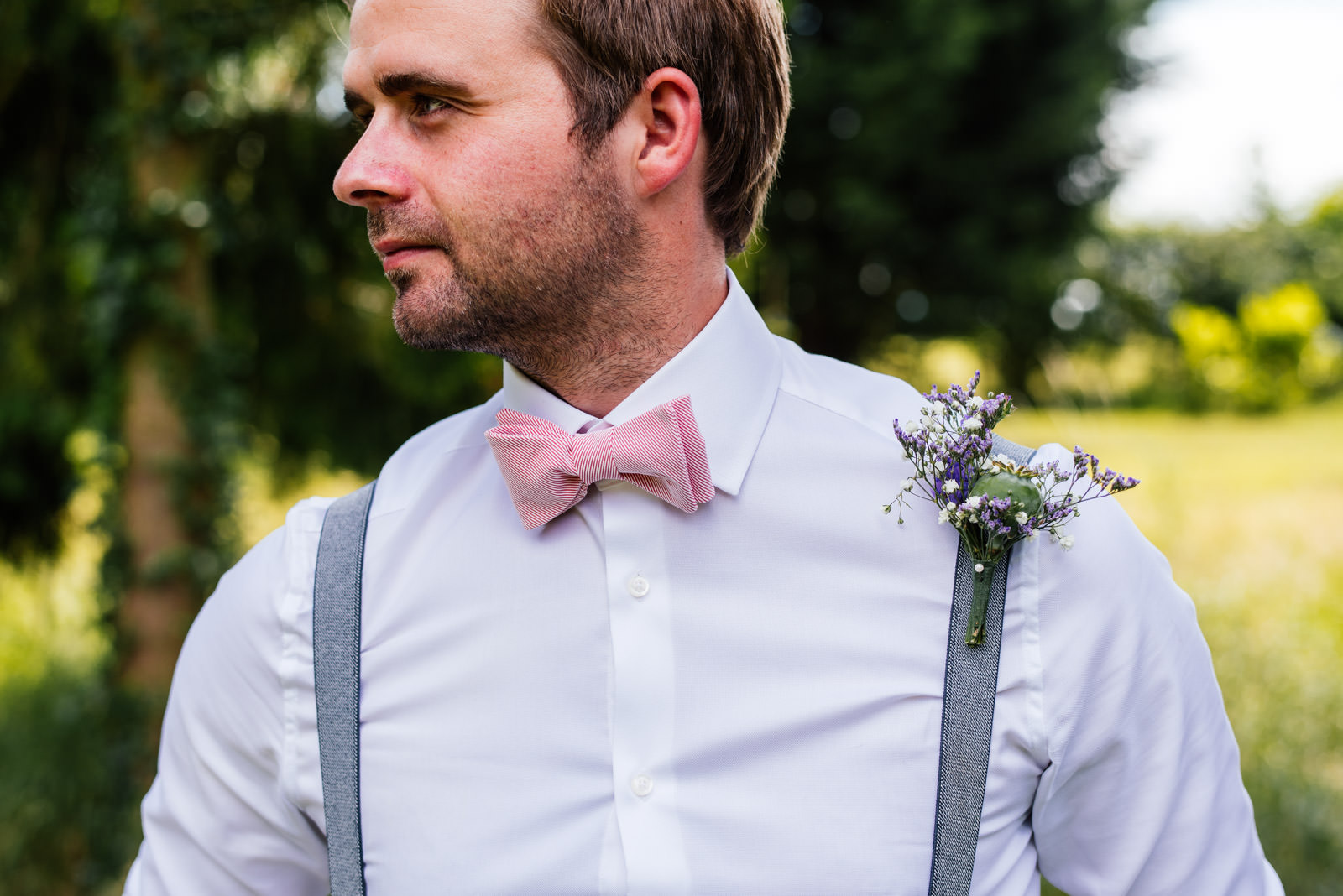 the dapper groom bow tie
