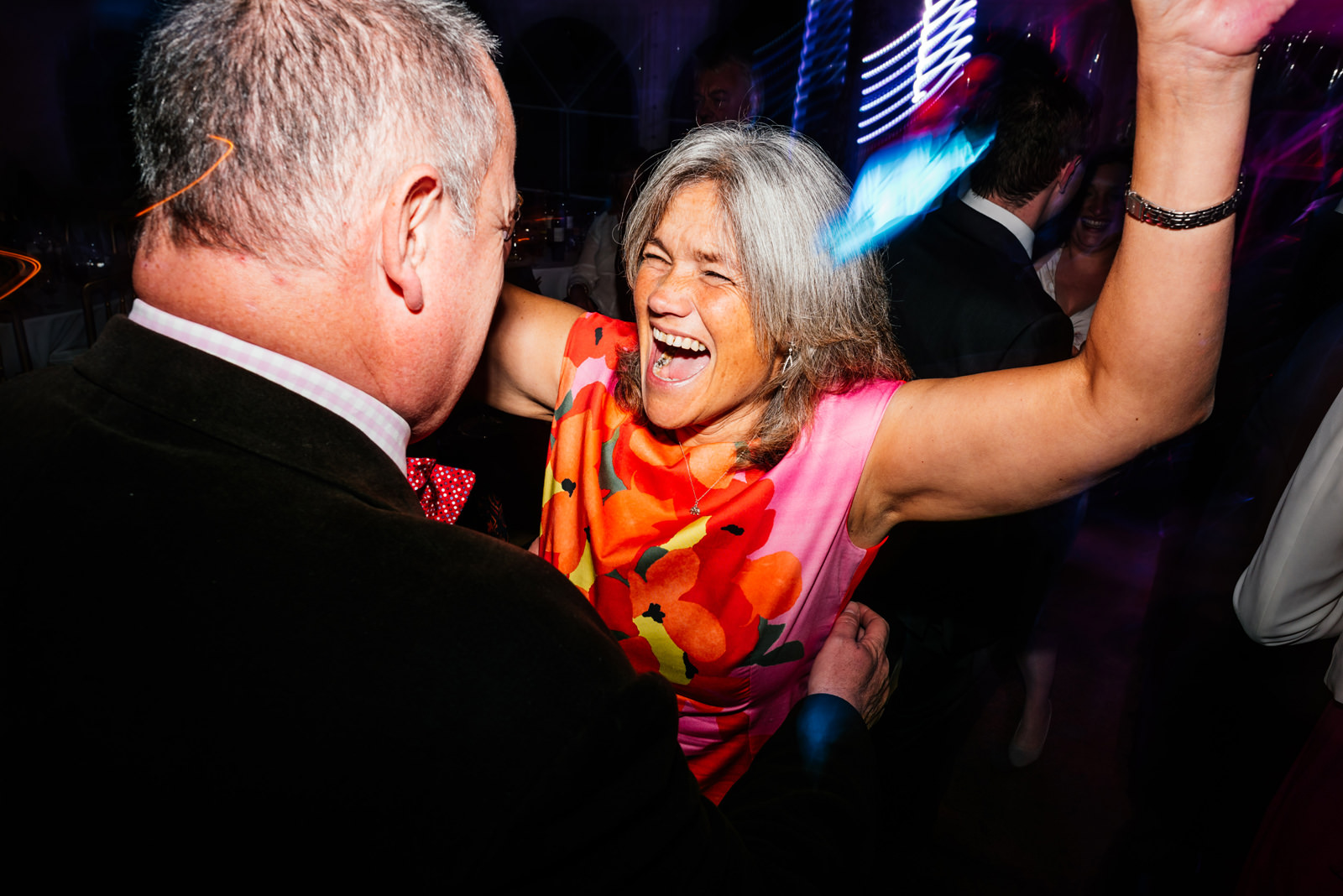 Guests having fun on the dance floor