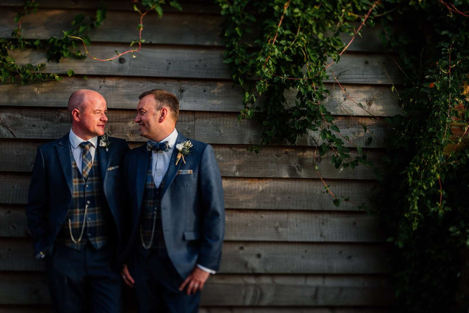 groom and groom portrait