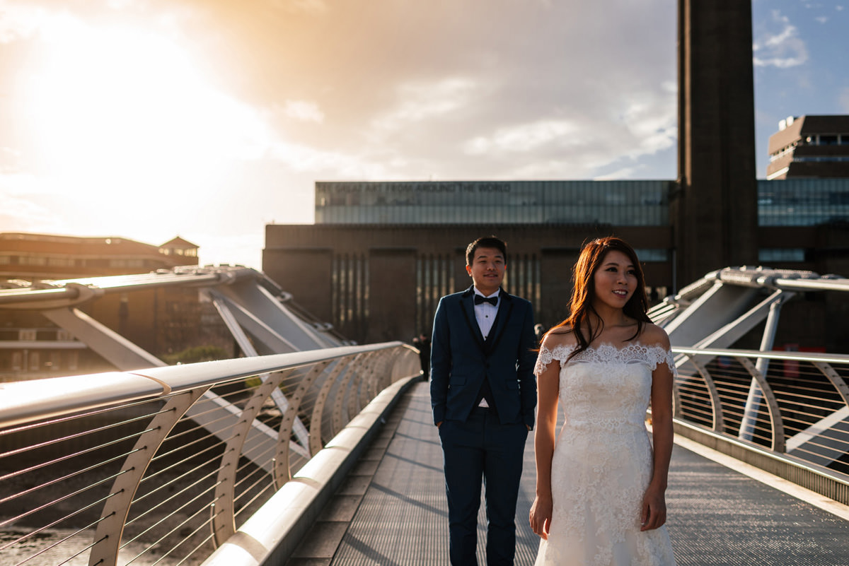 The Tate Modern Pre-Wedding Shoot