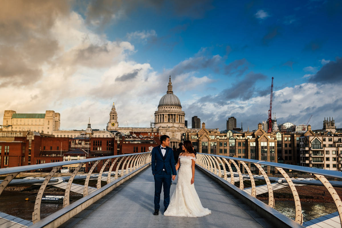 St Paul's Cathedral Wedding Shoot
