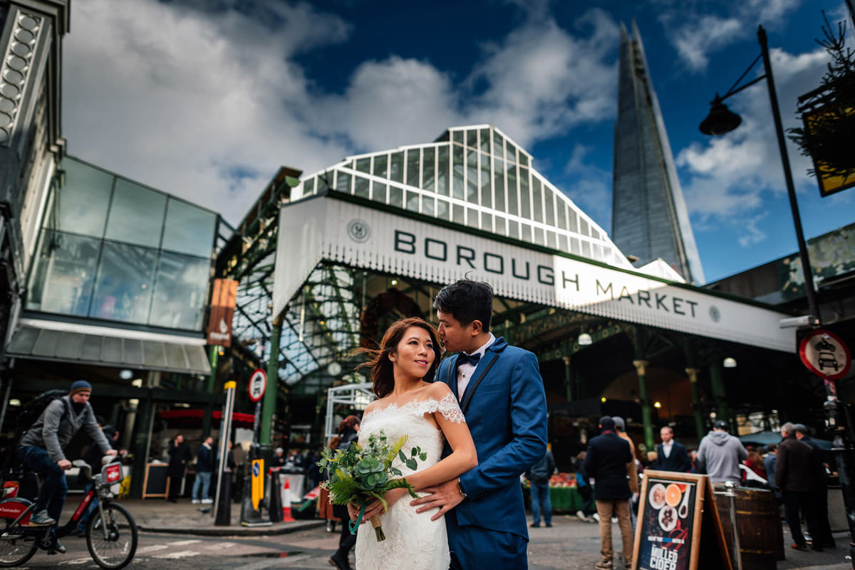 Borough Market Wedding Photography