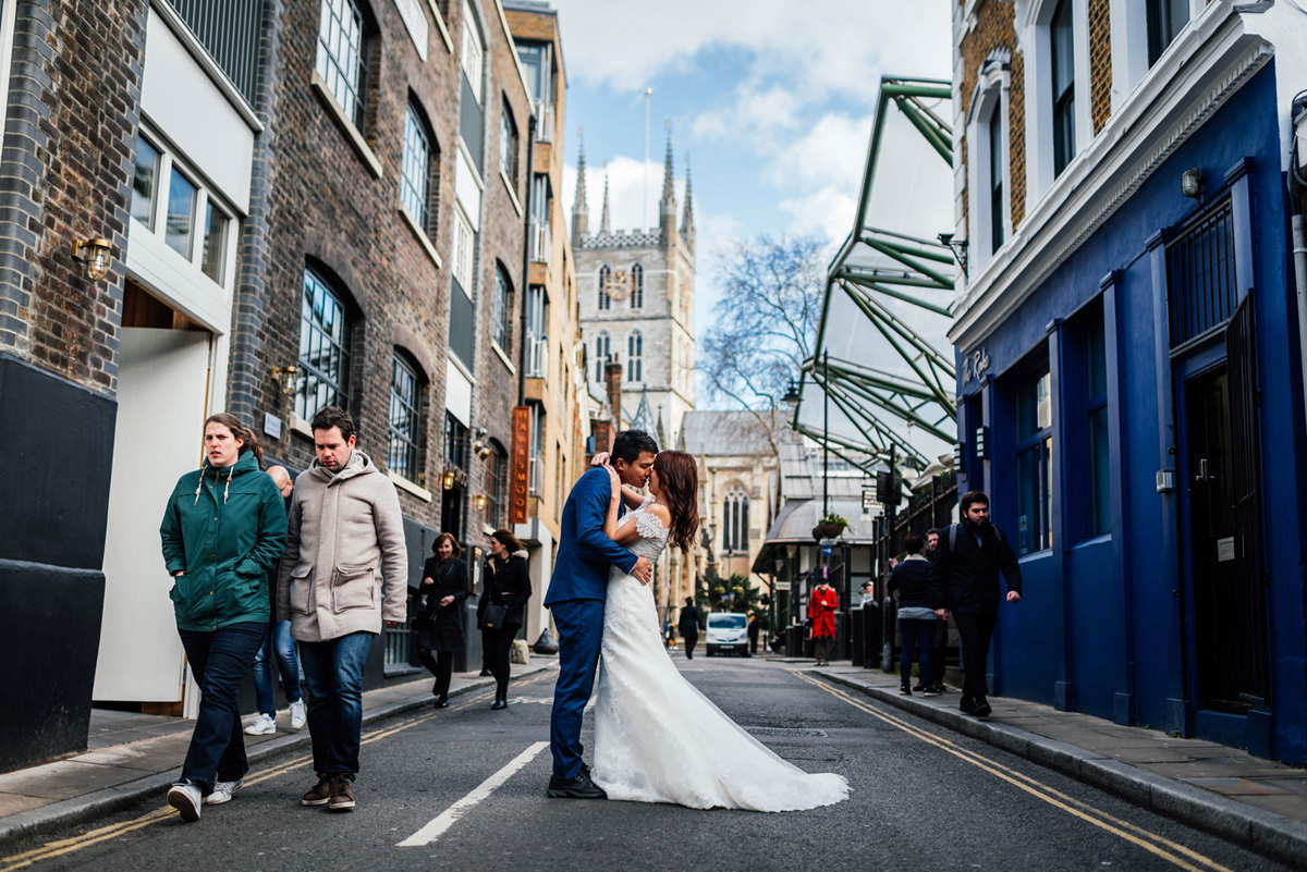 Southwark wedding photography