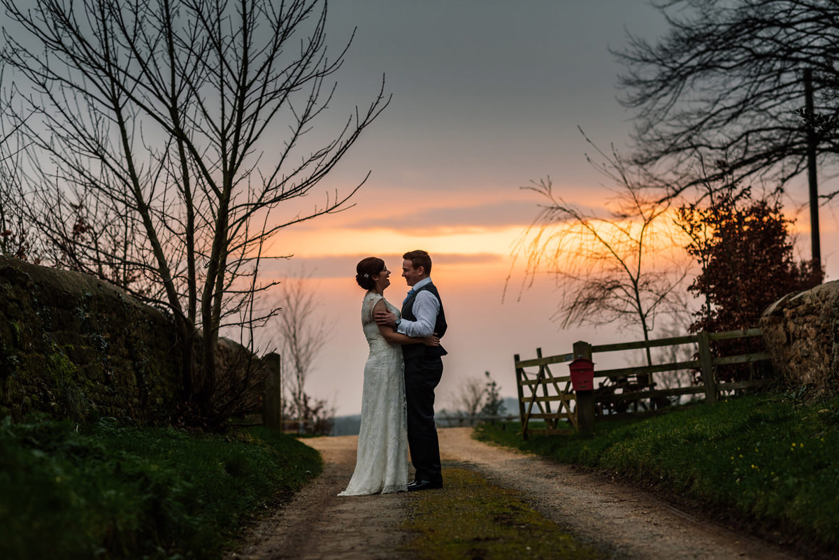 sunset at dodford manor