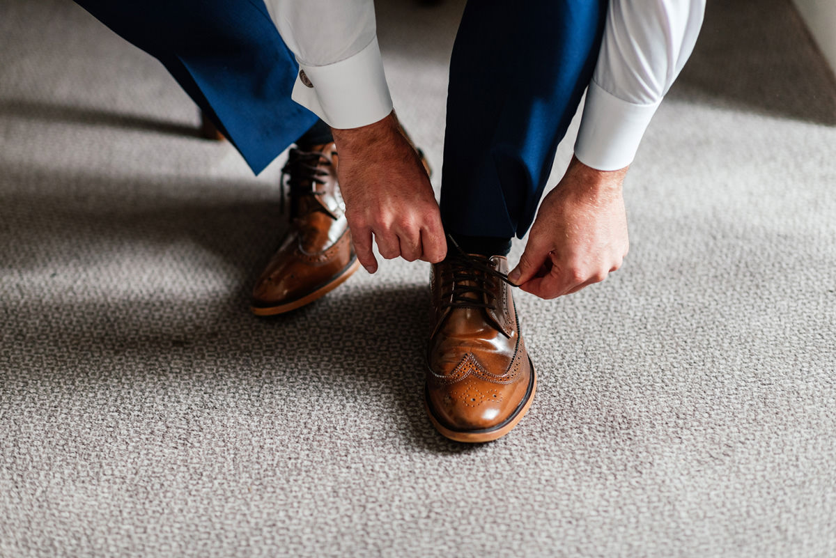 groomsmen shoes brown leather
