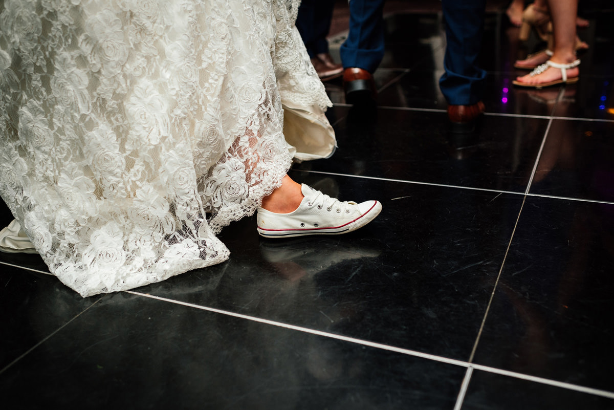 wedding day trainers