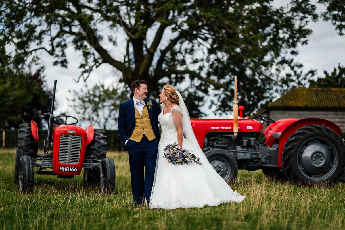 Emily & Simon's Church & Marquee Garden Wedding