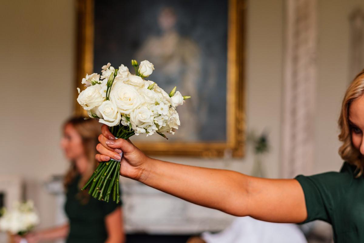 bridesmaids bouquet of flowers