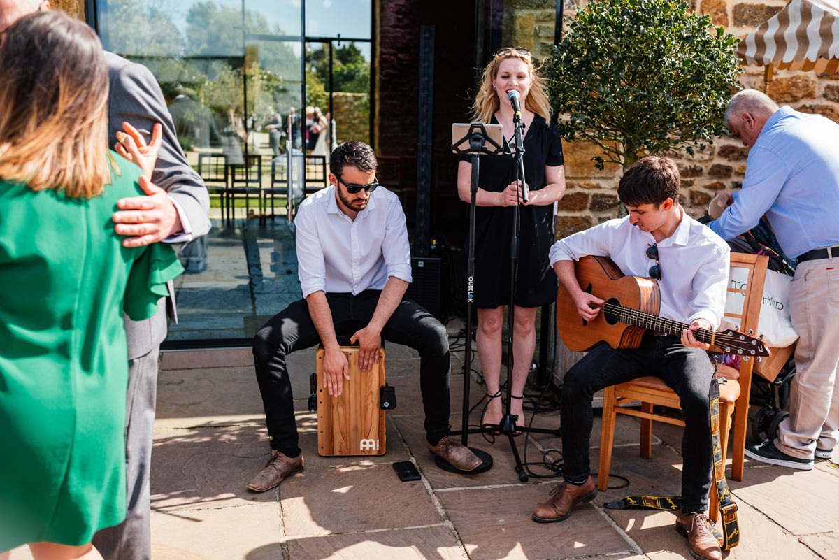 wedding acoustic trio band