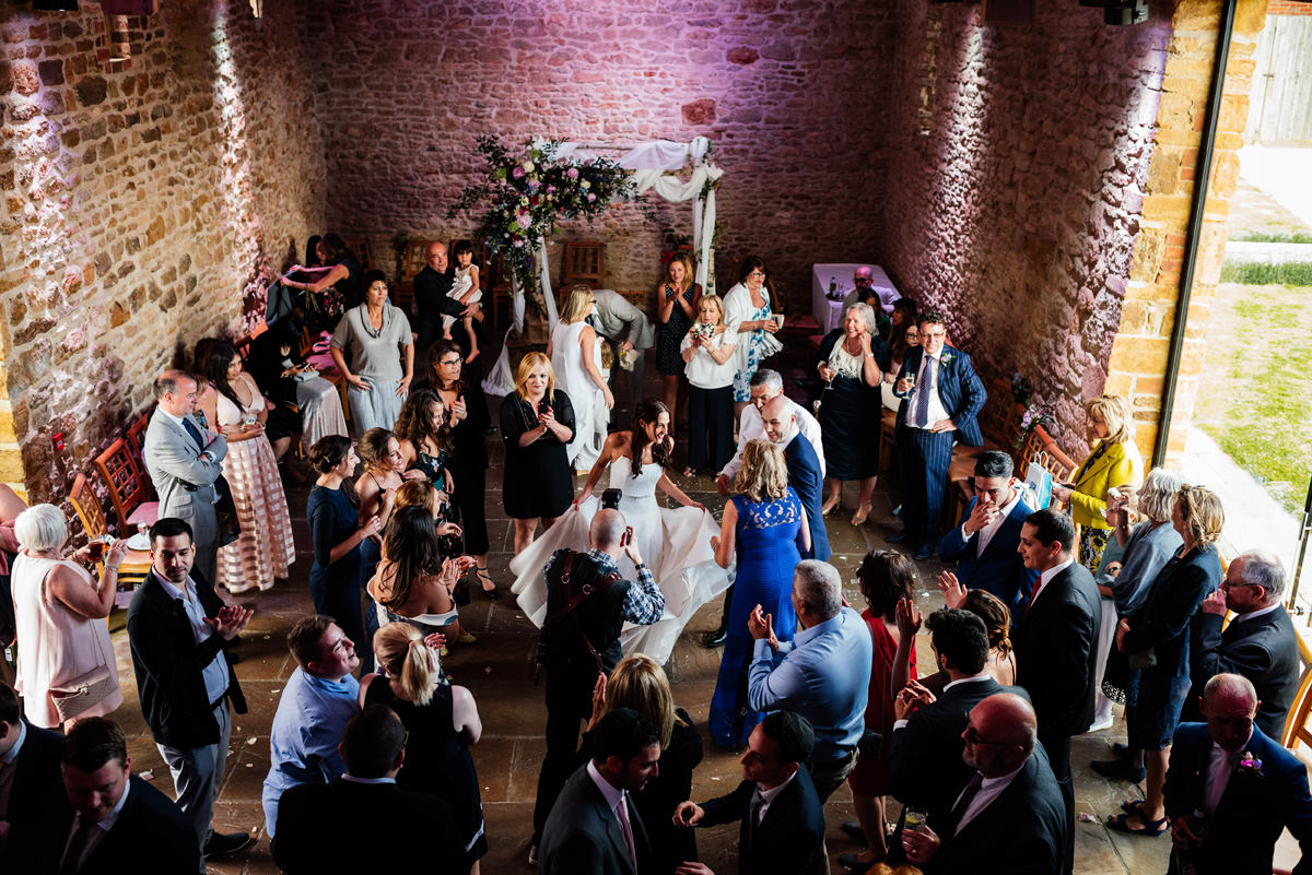 jewish wedding at Dodford Manor