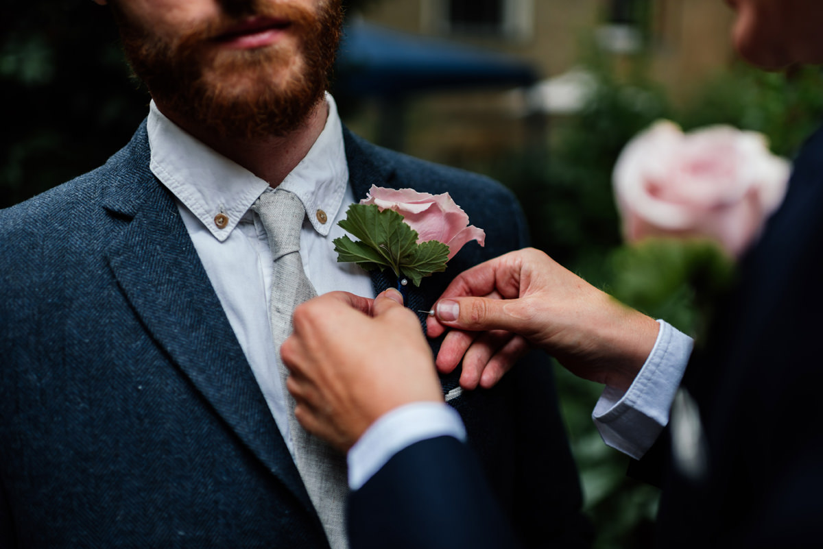button hole flower for best man