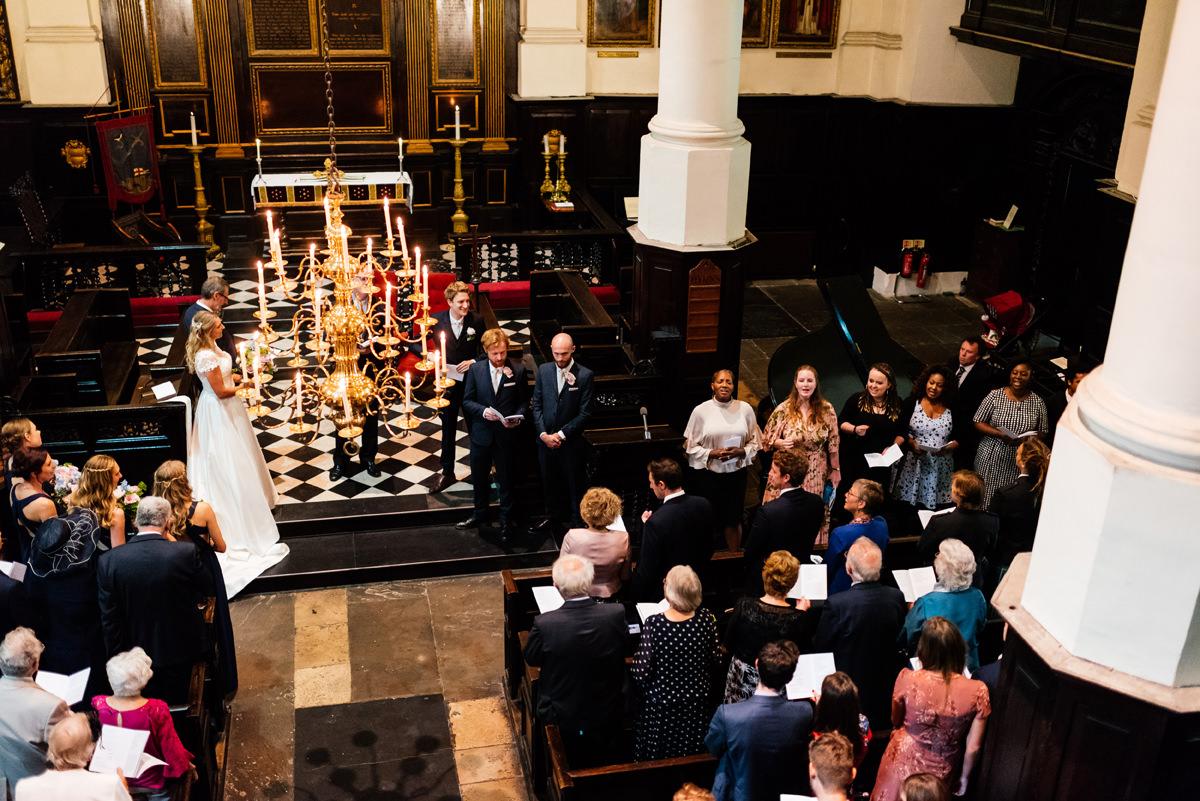 london church ceremony