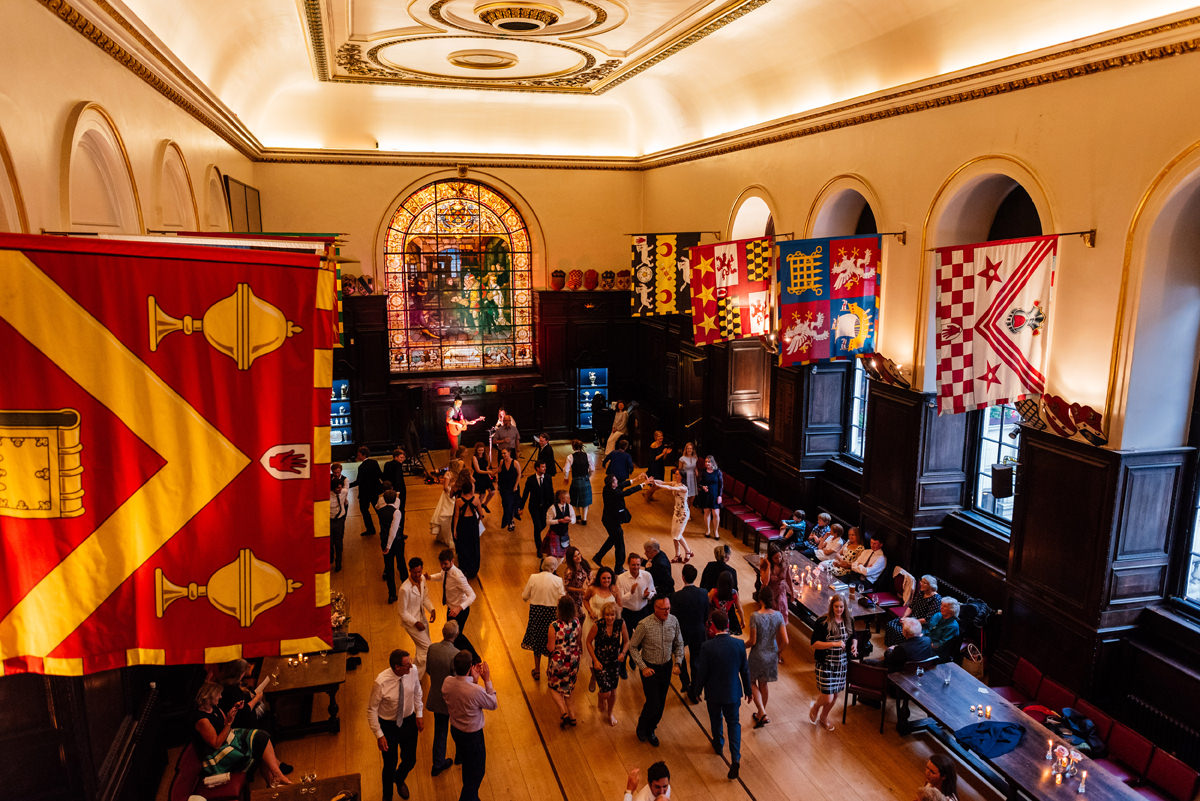 ceilidh dance at stationers hall