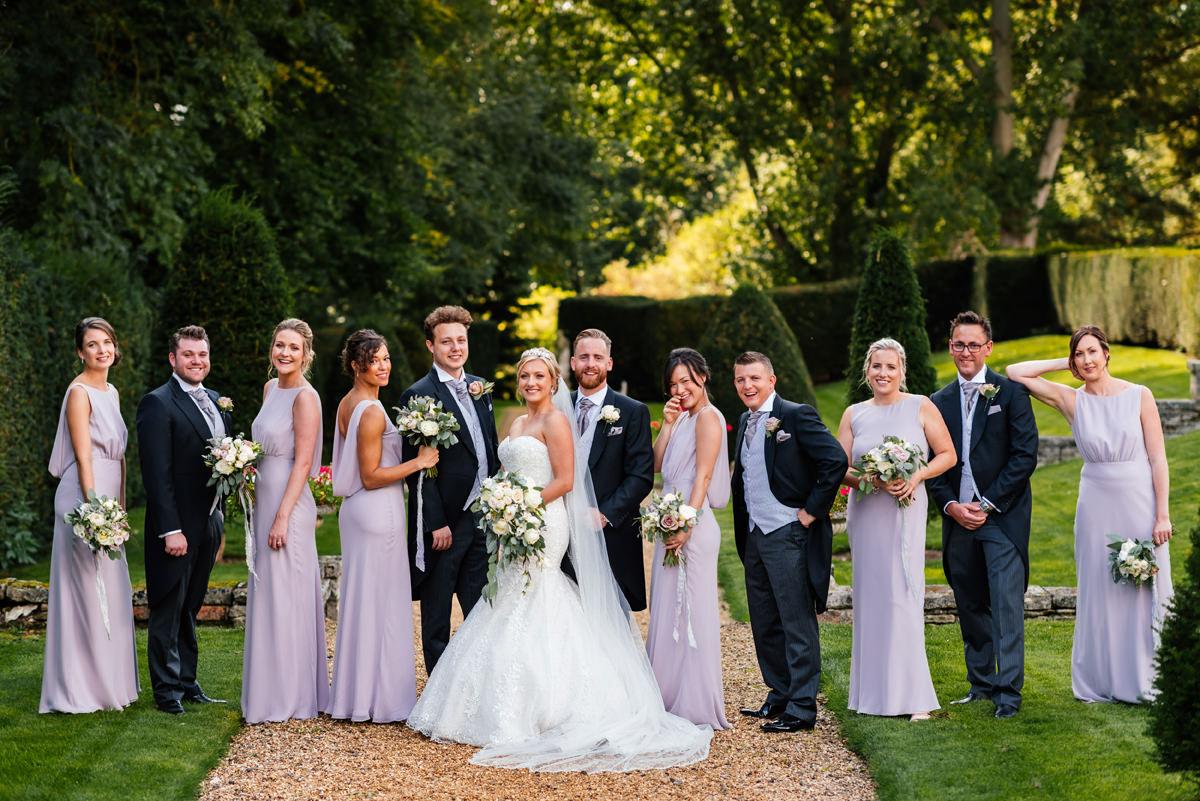 bridal party bridesmaids and groomsmen
