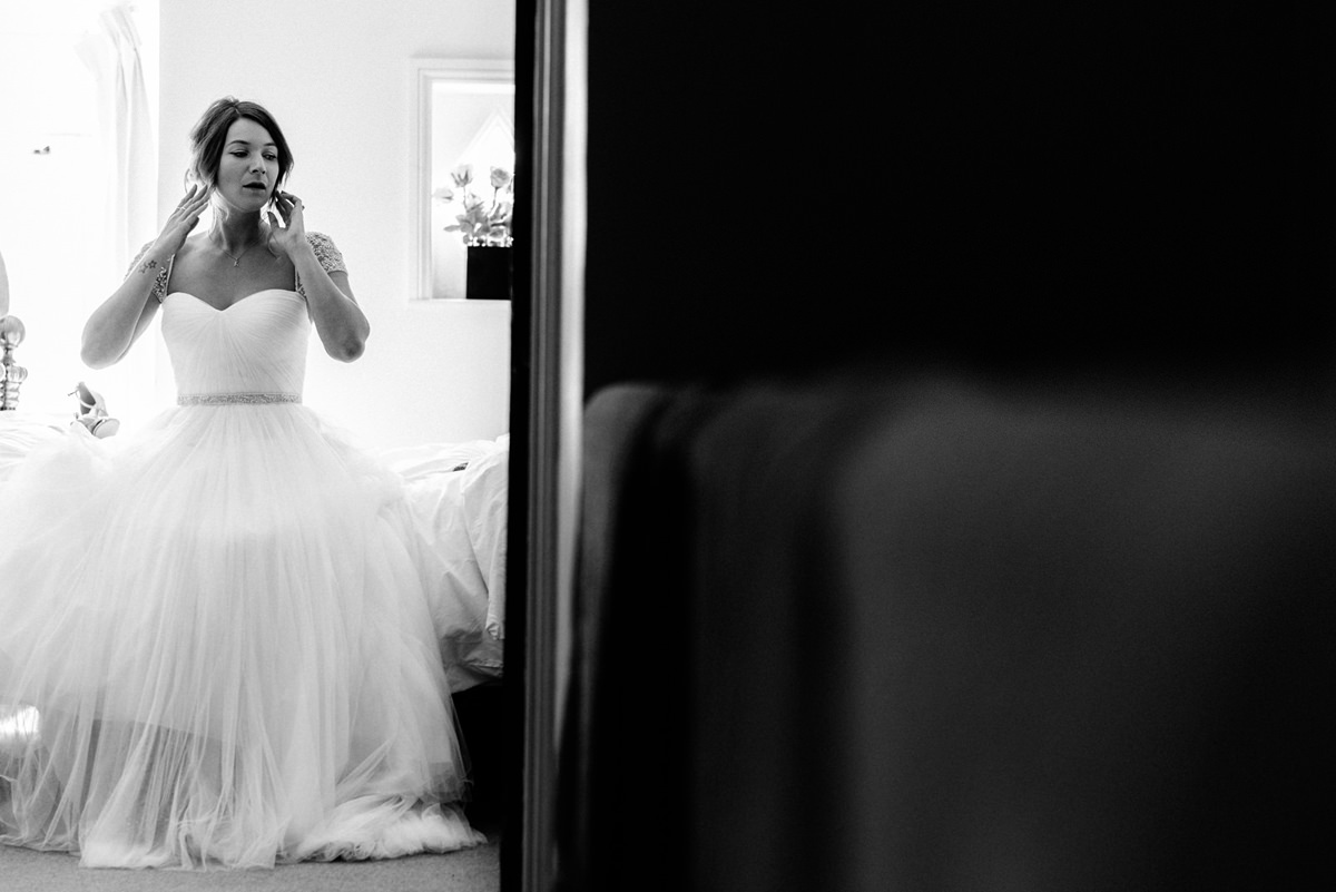 bride contemplating