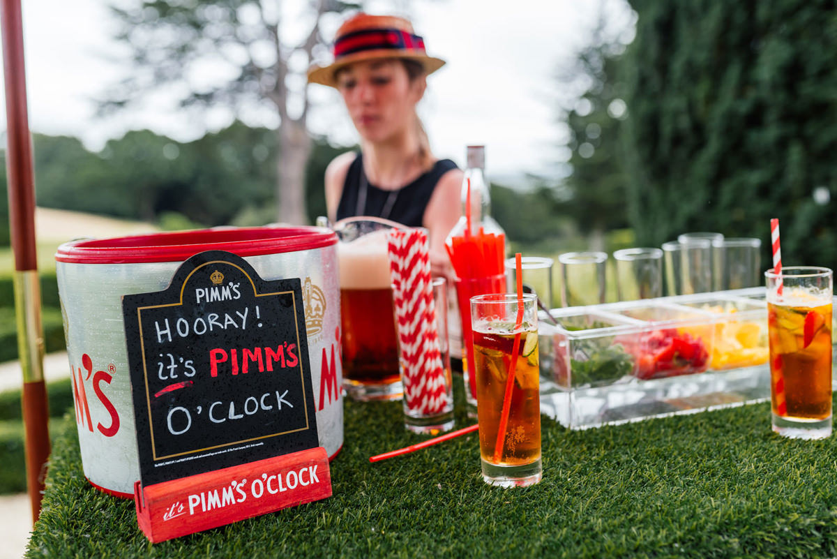 Hooray it's Pimm's O'Clock