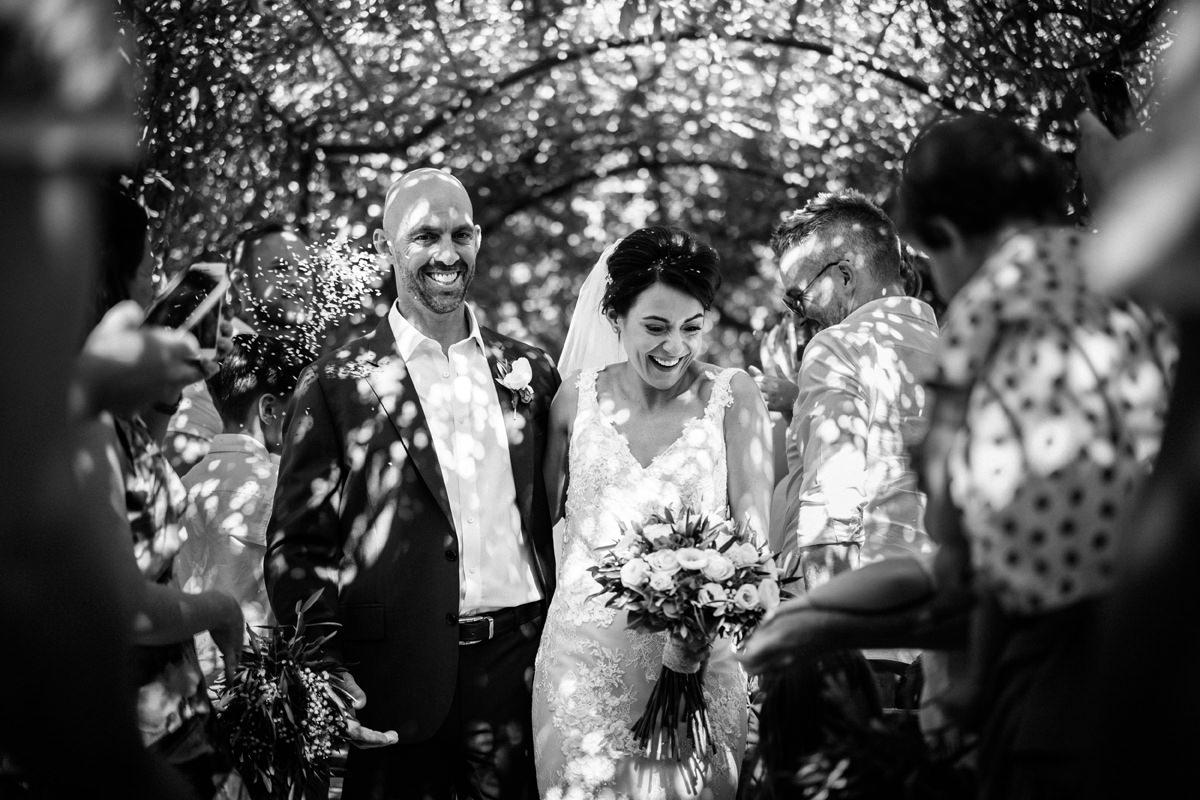Outside wedding ceremonies